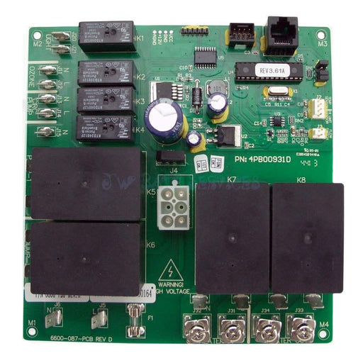 Hot Tub Parts - Sundance Spas Jacuzzi Circuit Board (P/N: 6600-726)