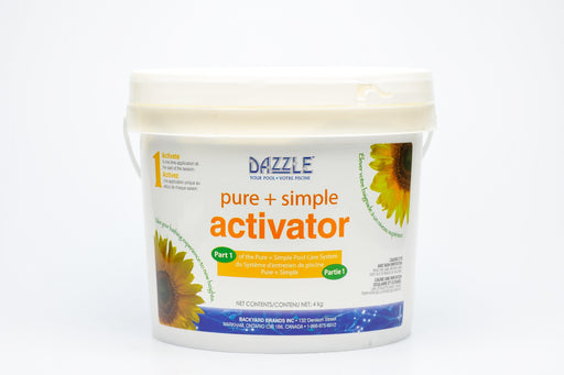 Dazzle Pure + Simple Activator (4kg) - Aqua-Tech