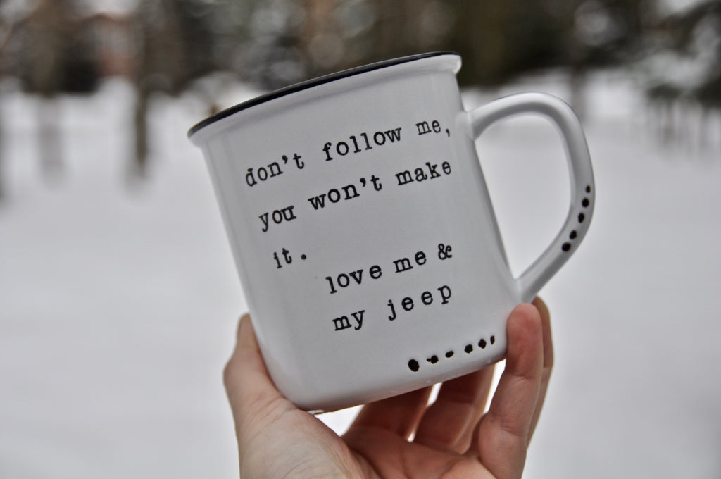 jeep mug car lover gift