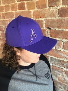 Hat with 'A' Embroidered