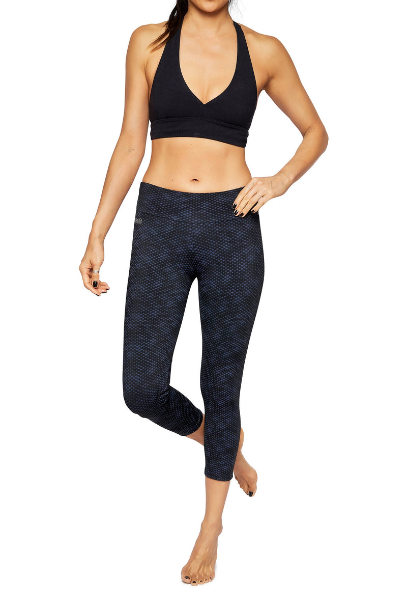 Brasilfit Australia Activewear High compression sports tights Jewel front view