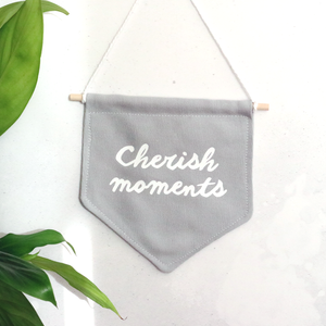 Cherish Moments Flag