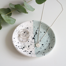 Green and Black Speckled Ring Dish