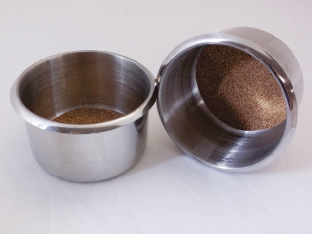 Stainless Steel Cup Holders (Pair)