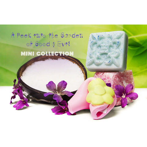 ENTIRE A Peek into the Garden of Good & Evil MINI COLLECTION - Fortune Cookie Soap