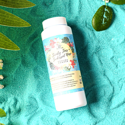 SANDY TOES + SUNKISSED NOSE Dusting Powder