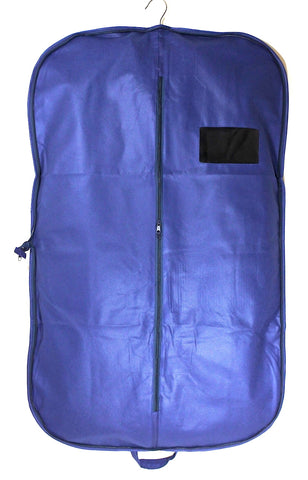 Foldable Suit Carrier - Blue
