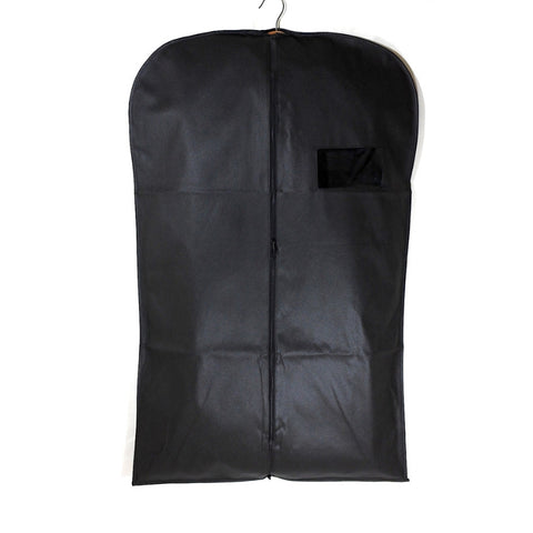 "Non Woven Suit Cover - Black 24""x40"" (12 or 25 pcs)"