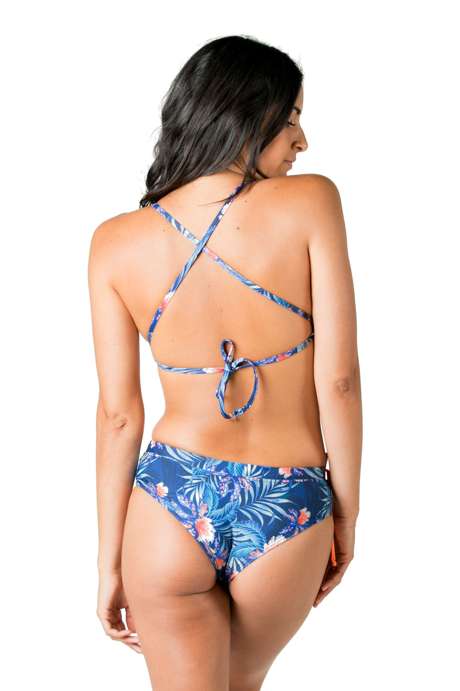 Legend Triangle Bikini Top (Blue Wow) Swim and Surf Tops Mona