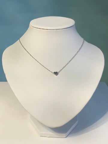 Dainty & Sweet Floating Heart Necklace