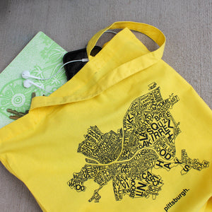 CommonWealth Press Map Tote