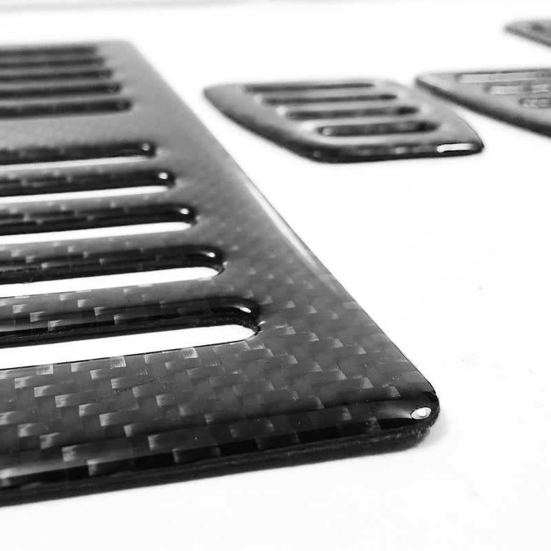 944-968 Carbon Fiber Manual Pedal Covers - CLEARANCE