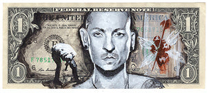 Chester Bennington Original Painting