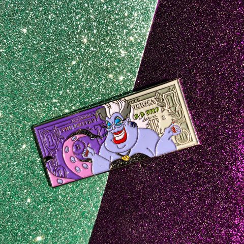 Ursula dollar pin
