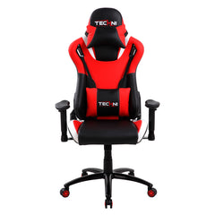 Techni Sport TS-80 High Back Racer Style Video Gaming Chair, Red