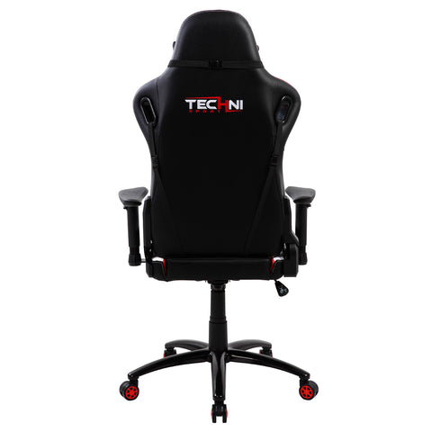 Techni Sport TS-80 High Back Racer Style Video Gaming Chair, Red - eSportsfurnitureworld
