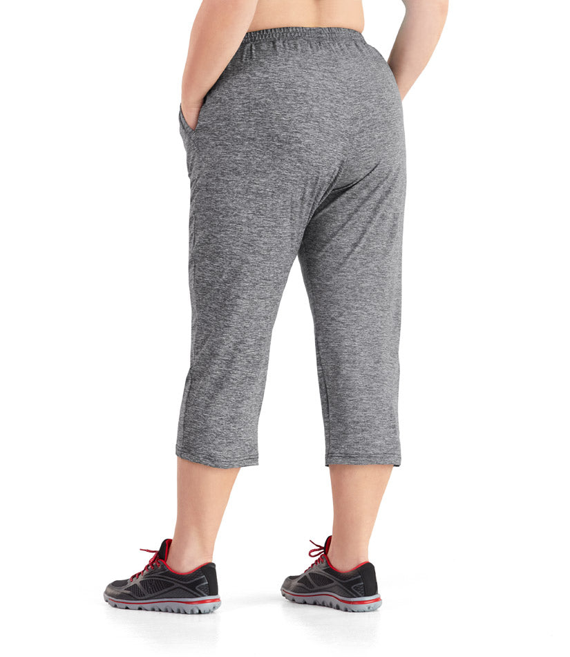 SoftWik® Long Capris with Pockets