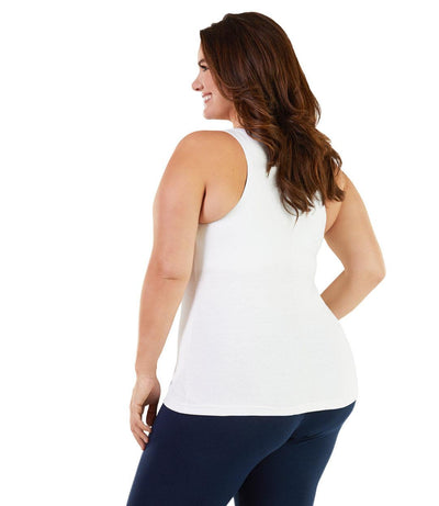 plus size yoga tank top