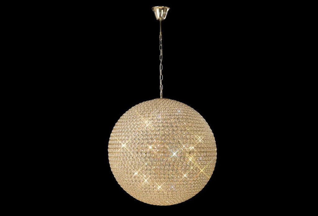 Ava 12 Light French Gold Chandelier