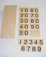 Tens Boards with Box and Beads