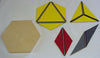 Small Hex Constructive Triangle Box