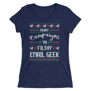 Merry Campaigns Ya Filthy Email Geek (Women's)