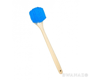 Wash Brush 18″ Long Handle Stiff Bristles Blue | CarWashCloth