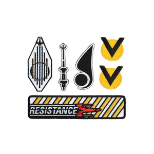 Star Wars X Wing Patch Set