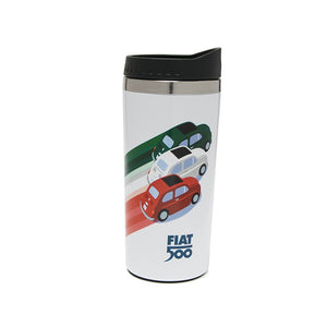 Borraccia tricolore Fiat 500