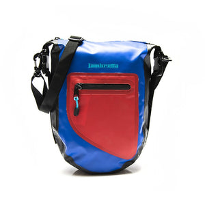 Borsello Lambretta waterproof - blu