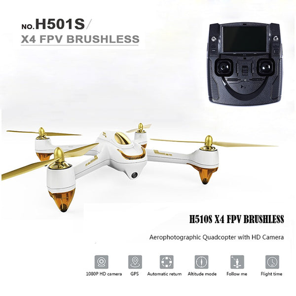Hubsan H501S X4 RC Drones 5.8G FPV Brushless Cam HD 1080P GPS RC 4Quadcopter