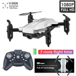 M9 Mini Drones RC pliables intelligents Wifi FPV Cam 1080P HD Atl fixe 3D Dron roulant