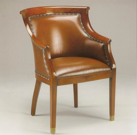 Leather Club Chair(also available in Fabric)