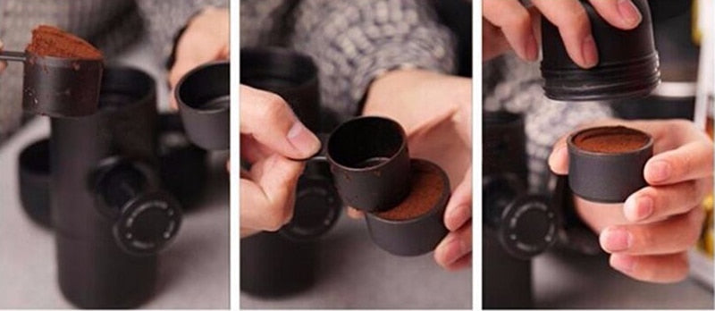 Mini Handheld Portable Espresso Maker
