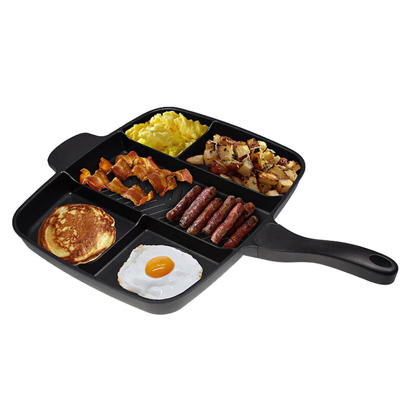 "Divided Frying Pan / Skillet 15"" - Non-Stick"