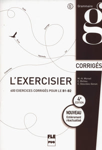 L'exercisier : Corrigés des exercices - Rayon FLE