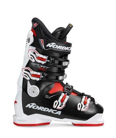 Nordica Sportmachine 90 White Black Red Ski Boots
