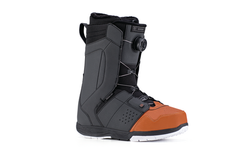 RIDE 2019 Jackson Terracotta And Black Men's Snowboard Boots