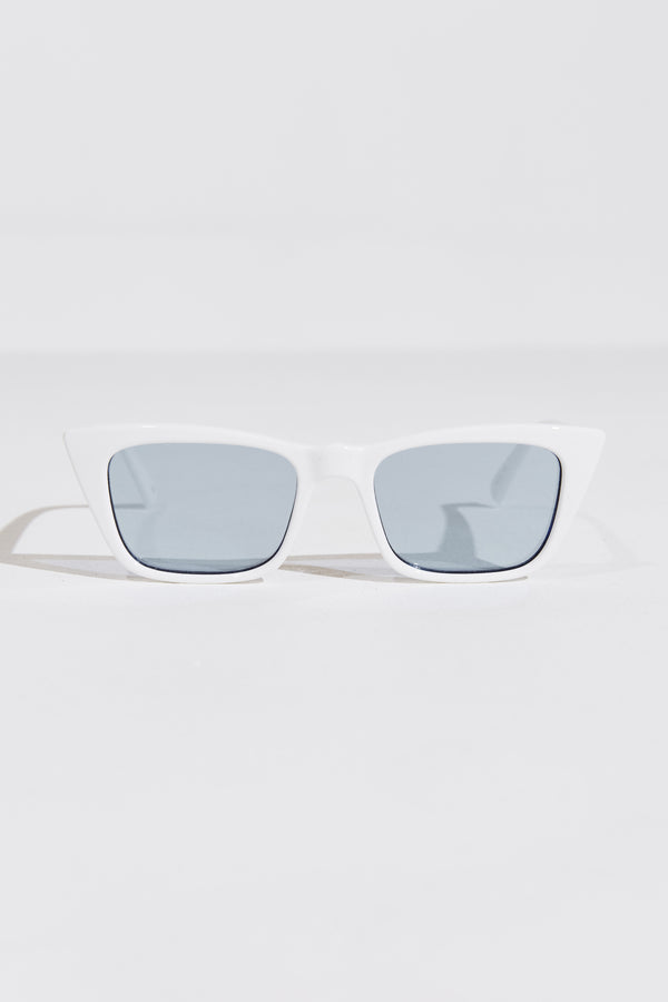 I FEEL LOVE SUNGLASSES IN OPTIC WHITE