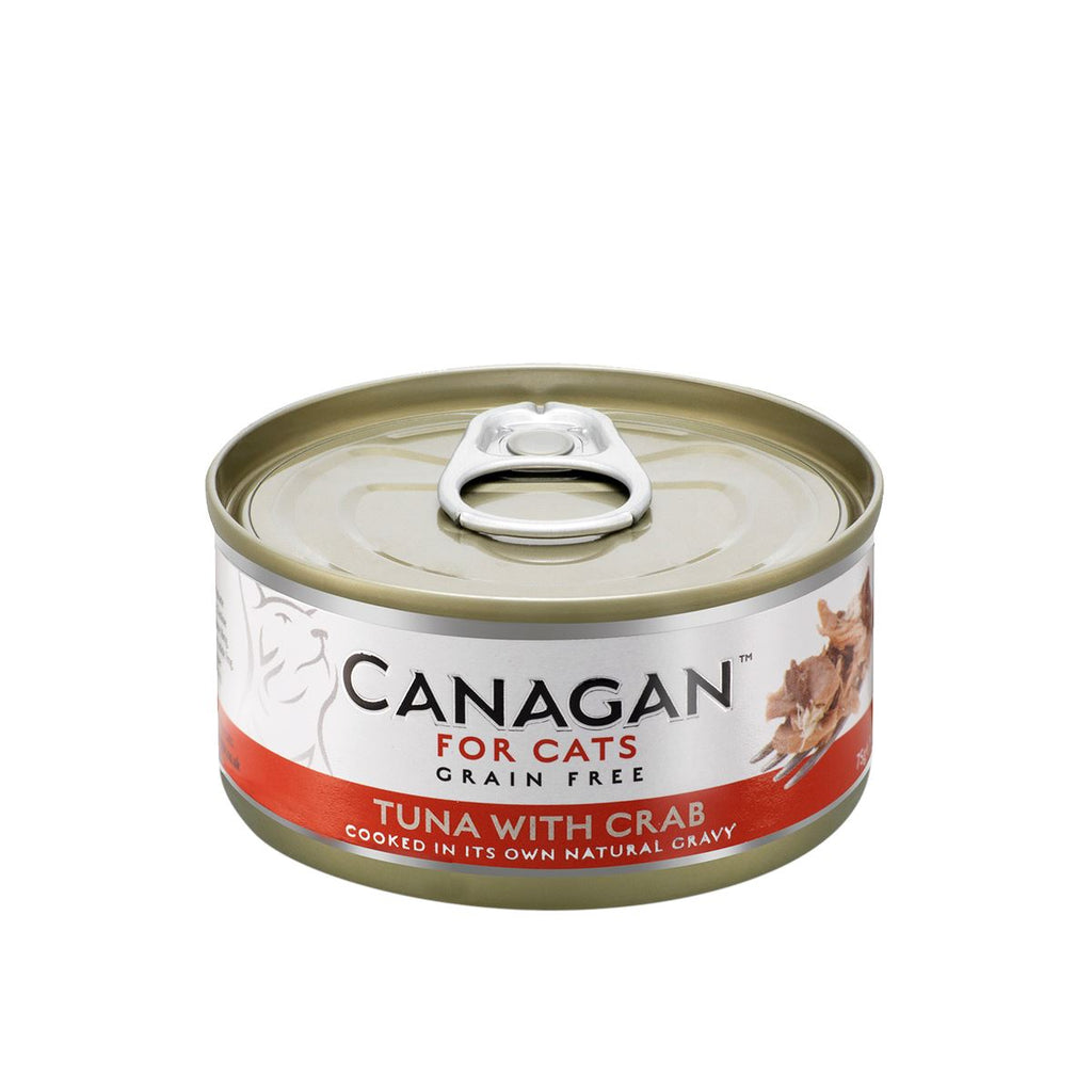 Canagan Cat Can - Tuna with Crab Cat Food - Wet Canagan