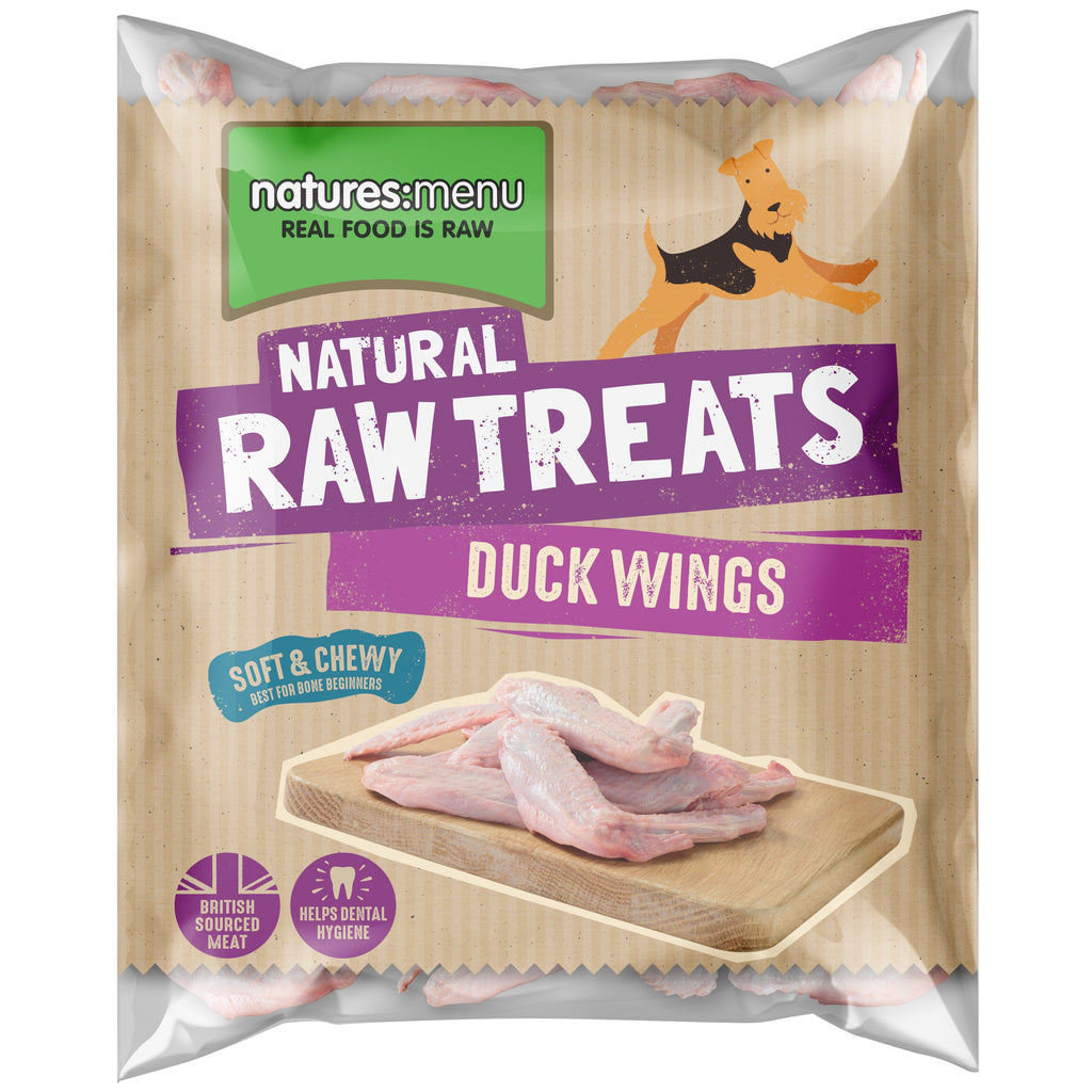 Natures Menu Duck Wings Dog Food - Frozen Natures Menu