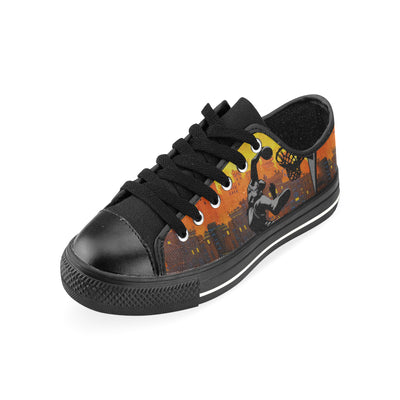 GTS-11-B Aquila Canvas Kid's Shoes (Big Kid) (Model 018)