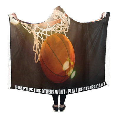 "Basketball Hooded Blanket GTS03 80""x56"""