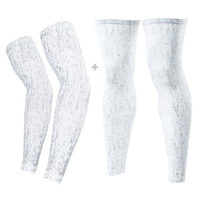 Glow In Night Basketball Leg Warmers and Arm Sleeves