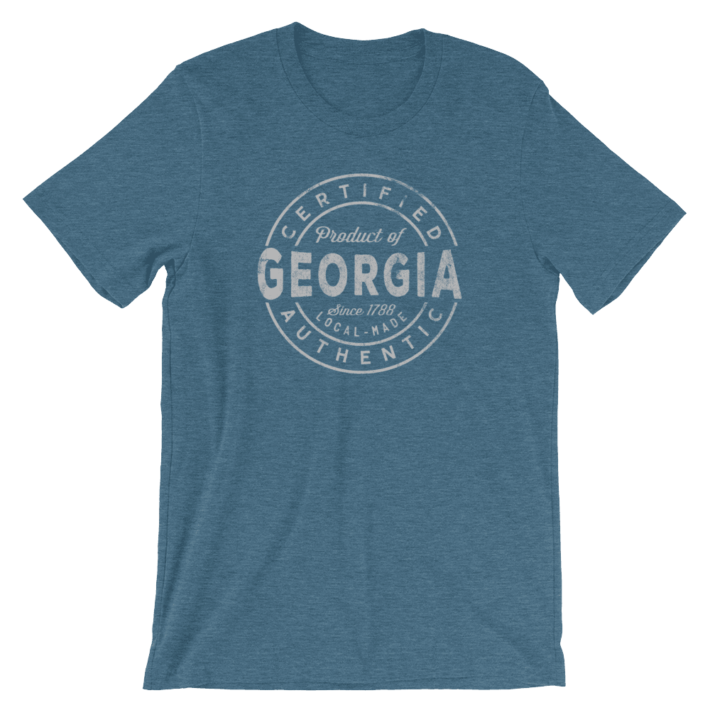 Georgia T Shirt -Certified Product of Georgia
