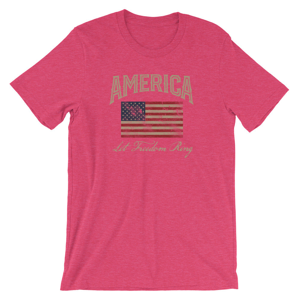 America Let Freedom Ring Patriotic TShirt