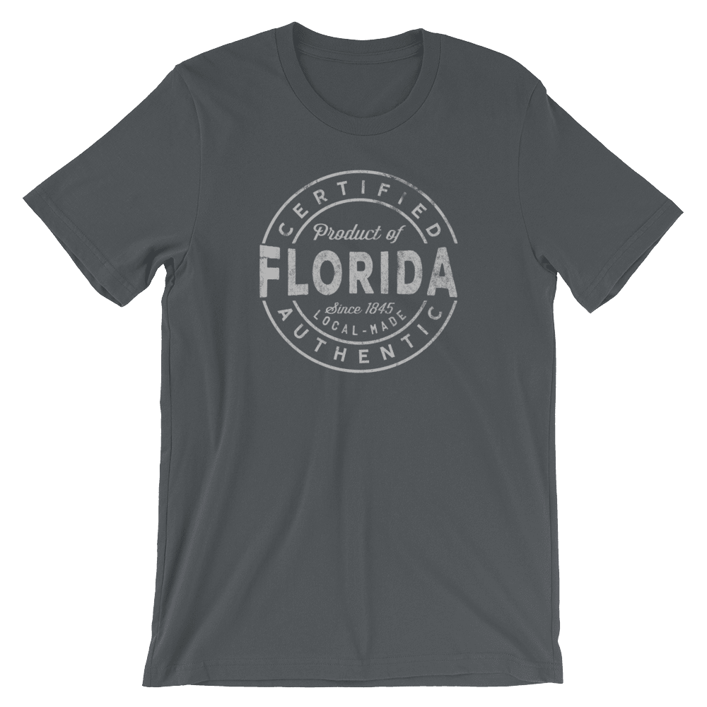 Certified Product of Florida T Shirt