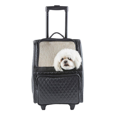 Dog Carrier and Car Seat | The Luxe Rio | For dogs 15lbs or less