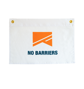 No Barriers Flag - No Barriers Home -