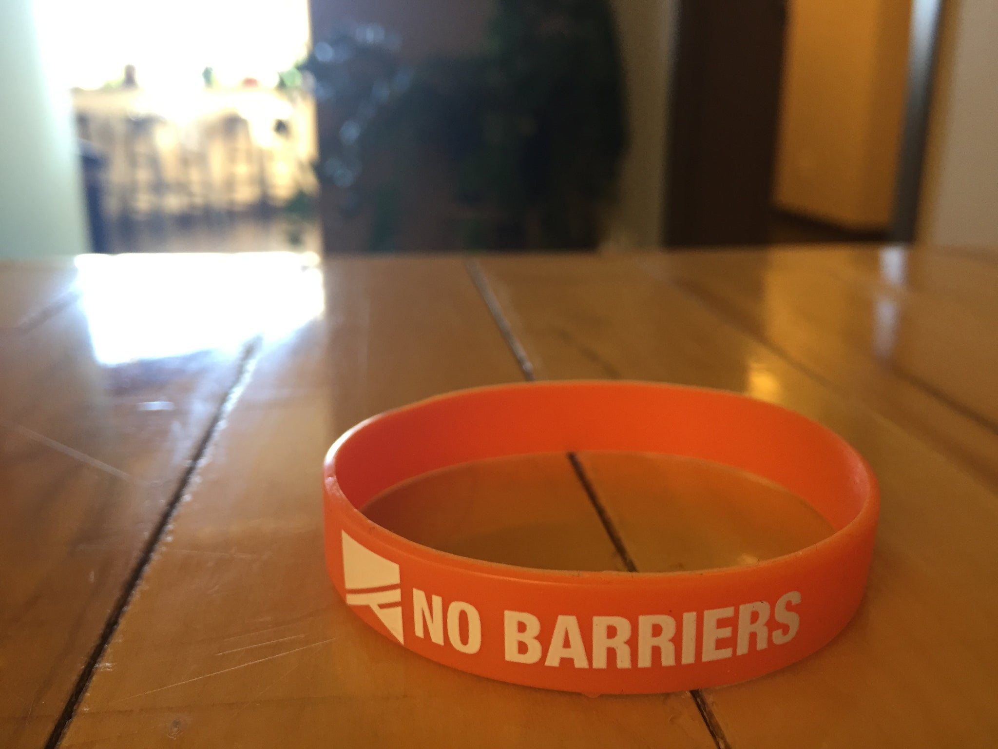 Silicone Wrist Band - No Barriers Accessories -